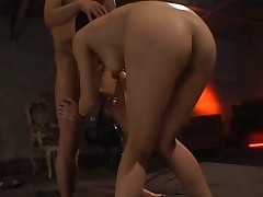 Azumi Harusaki Asian forced to suck cock and left on the floor
