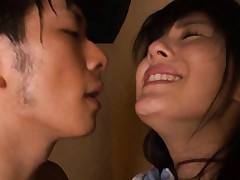 Sora Aoi Asian is undressed and ready to be pumped in poonanie