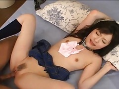 Rika Sonohara Asian doll is a sex toy who enjoys getting lots of cock