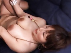 Kanon Ozora horny cosplay girl takes his cock deep inside her