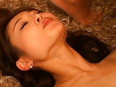 Japanese AV Model gets nailed and cum with babes around in orgy