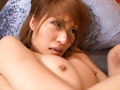 Kirara Asuka Asian gets sperm right from cock on her fine butt