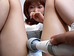 Japanese whore is enjoying her fun with her date and vibrating pussy