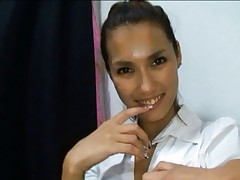 Maria Ozawa Asian has satin bra taken away and boobies fondled