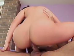 Minako Ooyama enjoys getting a pussy pounding and sucking balls