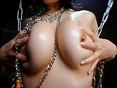 Lovely Asian slut has a great set of tits round tight ass and a fuckable mouth