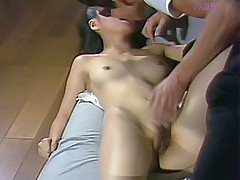Mai Misaki hot Japanese fuck doll gets her hot pussy licked and fucked