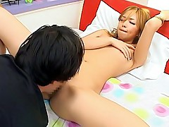 Hot Asian tramp gets a hard pussy pounding bu her horny date