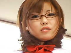 Rio Hamasaki controls two men with a leash turning her on