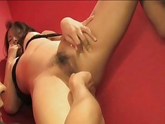 Iori Mizuki Hot Asian model and boyfriend are playing with pussy toys