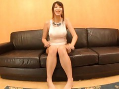 Hitomi Kitagawa shows big jugs and hairy cunt in wet bath suit
