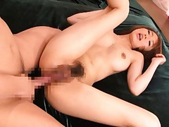 Yui Misaki Asian gets stiffy in her ready for hot action holes