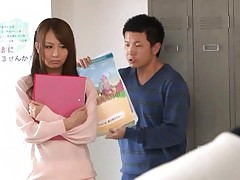 Jessica Kizaki Asian student is punished with vibrator on curves
