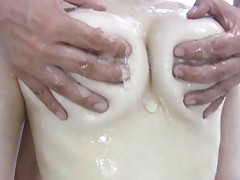 Kana Tsuruta Asian has big jugs fondled with