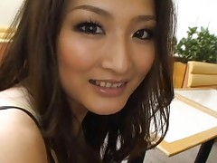 Japanese AV Model and other honey are happy to share same penis
