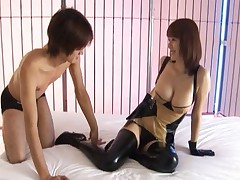 Yuma Asami gets warmed up so she cam have some hot asian sex and get fucked hard