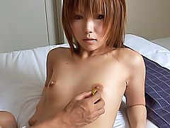 Pretty Asian model gets her pussy licked and her tits tweaked on her hot date