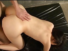 Haruka Itoh is bent over penetrated then fucked hard