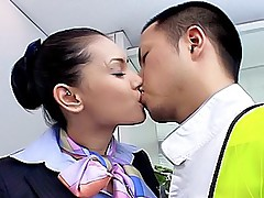 Maria Ozawa horny Japanese model is ready to fuck and is licking cocks