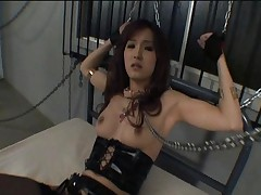 Mei Haruka is a cute sex slave ready to please her master