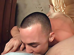 Gal gets pussy and mouth filled and fucked with cock