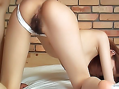 Yui Sarina hot Asian babe is anally fucked when she parties on dates