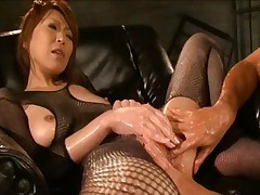 Jun Kusanagi Hot Asian doll likes getting a fingering by her boyfriend