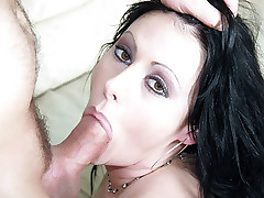 Tattooed wife Moxie Madden hooks up with an Asian hottie and goes for hardcore fucking live