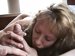 Lecherous amateur couple satisfying wet genitals of each other in turn