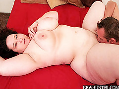 Pretty Asian plumper having her plump ass jizzed
