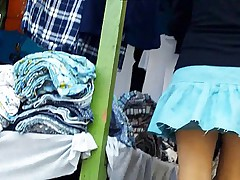 Pretty upskirts caught on camera