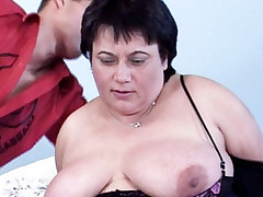Watch this steamy BBW porn as plumper Laszlone enjoys a hard cock pound away her pussy
