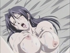 Insane hentai with guy fingering his partners anus