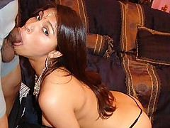 Slim chick Mehla gets on top and fucks a huge dick in this hardcore movie