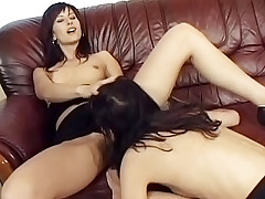 Naughty and horny girls enjoying some pussy licking