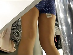 Hot fitting room spy hq videos