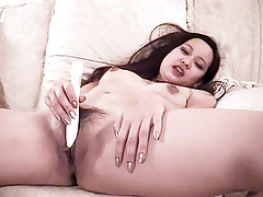 Moaning in pleasure is hot asian chick Kim Chi as a handsome stud fucks her nice and sweet