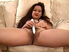 Horny Asian babe drilled hard in the pussy