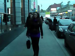 Public pick up movie with passionate girl