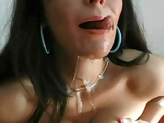 You must see it Deep oral fuck